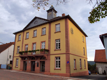 Georg-Ackermann (Bürger-) Haus in Beerfelden