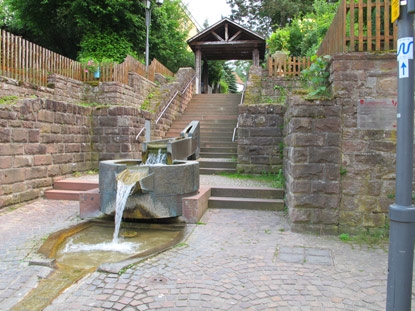 Landelschuss-Brunnen in Mosbach